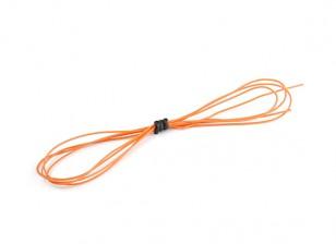 Turnigy High Quality 30AWG Silicone Wire 1m (Orange)