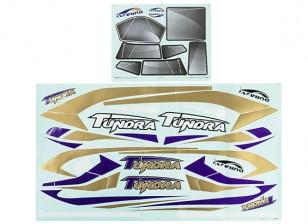 Durafly® ™ Tundra - Decal Set (Purple/Gold)