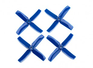 Dalprop Q4040 Bull Nose 4 Blade Propellers CW/CCW Set Blue (2 pairs)