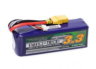 Turnigy nano-tech 3300mAh 5S 65~130C Lipo Pack w/XT-90
