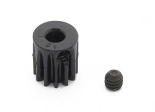 罗宾逊赛车黑色阳极电镀铝小齿轮节距48 12T