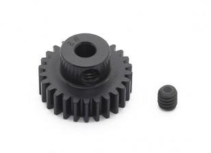罗宾逊赛车黑色阳极电镀铝小齿轮节距48 26T