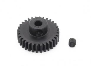 罗宾逊赛车黑色阳极电镀铝小齿轮节距48 32T