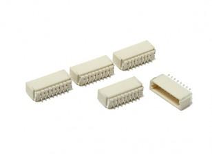 JST-SH 8Pin的插座(表面贴装)(5片装)