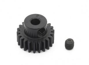 罗宾逊赛车黑色阳极电镀铝小齿轮节距48 22T(AR仓库)