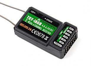 Turnigy iA6B V2接收器6CH 2.4G AFHDS 2A遥测接收机系统总线W¯¯