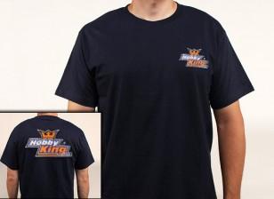 业余爱好景T恤海军蓝色(X-大)