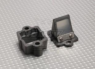 RCG 20cc的汽油发动机里德座/集成块