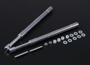 合金奥莱奥支柱169毫米60〜120级直2PC电源