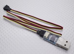 USB适配器电木飞行控制器和微小的OSD