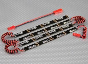 在机身的LED柔性霓虹灯系统(红)
