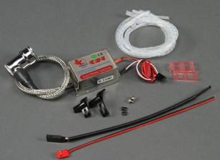 完成更换点火集的单缸汽油机14毫米插件