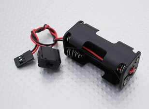 电池盒 -  1/16 Turnigy 4WD硝基赛车越野车,A3011
