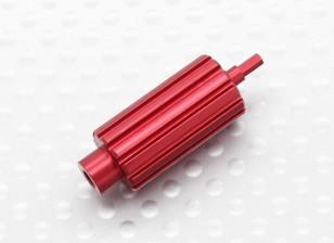 铝升级滚轮滚轮的Spektrum为DX系列变送器(红)