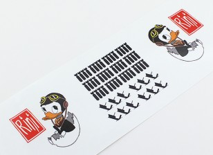 """TD-024机头艺术 - """"里尼""""L / R双手贴花"""