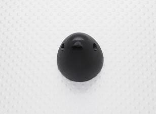 """30毫米铝微调道具螺帽1/4""""-28(阳极化处理的黑色涂层)"""