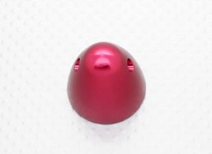 30毫米铝微调道具螺母M8x1.25(阳极氧化红色完成)