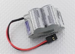Turnigy接收机驼峰包2 / 3A 1500mAh的镍氢电池6.0V大功率系列