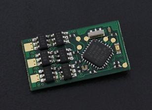 HobbyKing YEP 7A(1〜2S)无刷调速器(无丝版)