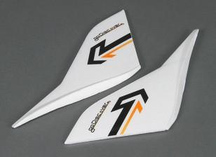 HobbyKing去探索FPV1600毫米 - 更换垂直翼