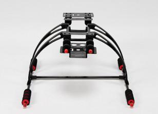 多功能护理 - 免费的螃蟹FPV起落架套装(黑色)
