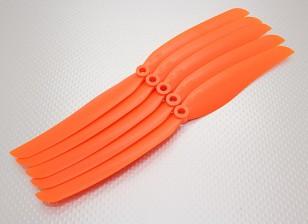 GWS式螺旋桨10x6橙色(CCW)(5片装)
