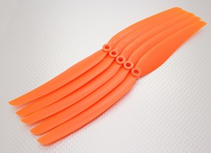 GWS式螺旋桨11x6橙色(CCW)(5片装)