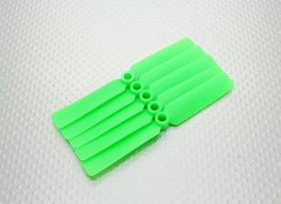 Hobbyking™螺旋桨4x2.5绿色(CCW)(5片装)