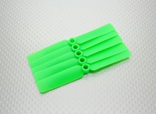 Hobbyking™螺旋桨4x2.5绿色(CW)(5片装)