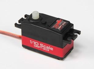 Turnigy™DRFT-303 1/10日D-规格转向舵机4.5千克/ 0.10sec /39克