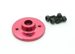 超重型数控金属伺服磁盘 - 双叶/ Turnigy(红)