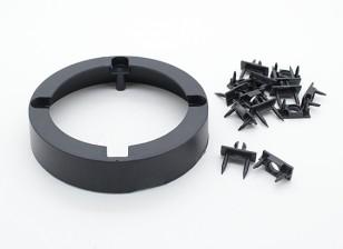 Radjet超推790毫米 - 电机安装环和雨棚紧固件剪辑