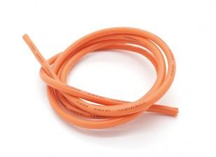 Turnigy纯硅胶线12AWG 1M线(由橙色)