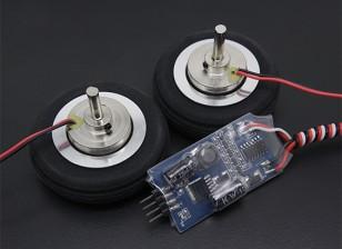 """博士MadThrust 2.0""""/51毫米主轮与电磁制动系统(2PC)"""