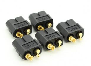 黑女XT60连接器(5片装)