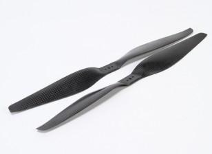 多转子碳纤维螺旋桨13x5.5黑色(CW / CCW)(2个)