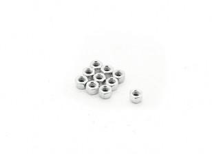 RJX的X TRON 500 M3自锁螺母#XT8039(10片装)