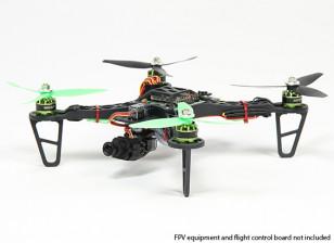 HobbyKing规格FPV250 V2四轴飞行器ARF组合套件 - 迷你尺寸FPV多旋翼飞行器(ARF)