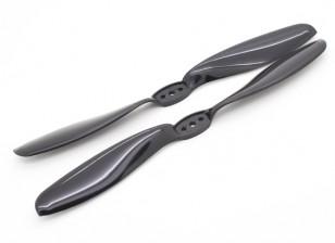 多转子T型螺旋桨8x4.5黑色(CW / CCW)(2个)