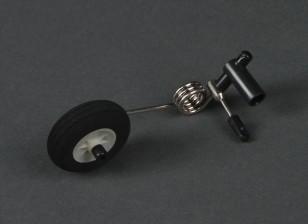 HobbyKing Bix3教练1550毫米 - 更换尾轮