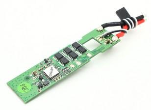 华科尔QR X350 Pro的GPS四轴飞行器 - 无刷电调(WST-15A)(绿色)