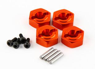 锤RZ-4 1/10拉力赛车 - 可选铝。六角轮(4只)