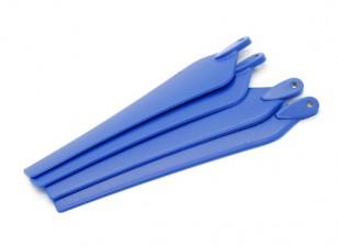 多转子折叠螺旋桨14x4.7蓝(CW / CCW)(4件)