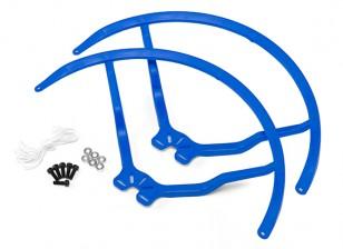 9寸塑料通用多旋翼螺旋桨后卫 - 蓝(2套)
