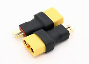 XT90女到T型连接器2只雄性/袋
