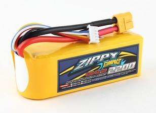 ZIPPY紧凑型2200mAh的4S 60C前列包