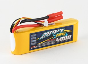ZIPPY紧凑型4000mAh的3S 40C前列包