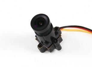 微型CMOS摄像机FPV 520TVL 120deg视域中14 0.008LUX×14×29毫米中(NTSC)