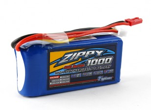 ZIPPY Flightmax 1000mAh的3S1P 25℃