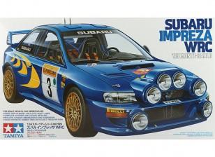 田宫1/24规模斯巴鲁翼豹WRC'98  - 蒙特卡洛塑料模型套件
